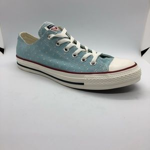 Converse Chuck Taylor All Star Low Blue Star Cut